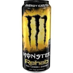 Monster Rehab Lemon Tea 500ml