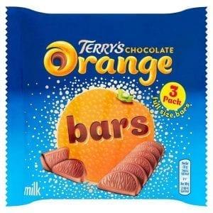 Terry's Milk Chocolate Orange Bars 3×35 g