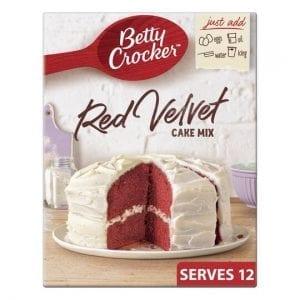 Betty Crocker Red Velvet Cake Mix 425 g