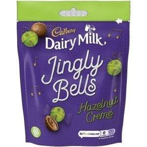 Cadbury Jingle Bells Hazelnut Creme 82 g