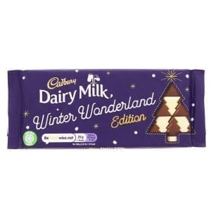 Cadbury Dairy Milk Winter Wonderland Edition 100 g