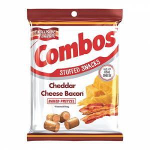 Combos Chedar Cheese Bacon Baked Pretzel 178,6 g