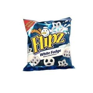 Flipz White Fudge Christmas 160 g
