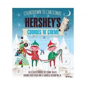 Hershey's Cookies & Creme Advent Calendar 205g