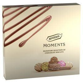 McVitie's Moments Selection of Chocolate Biscuits 400 g