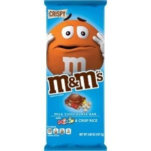 M&M's Bar with M&M's Minis and Crisp Rice 107,7 g