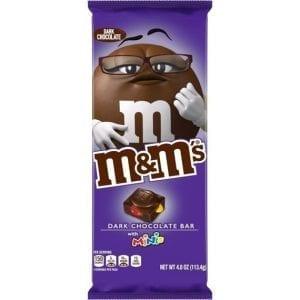 M&M's Dark Chocolate Bar with Minis 113,4 g