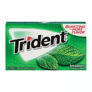 Trident Spearmint 14 ks 26,6 g