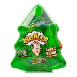 Warheads Extreme Sour Candy Christmas Tree 120g