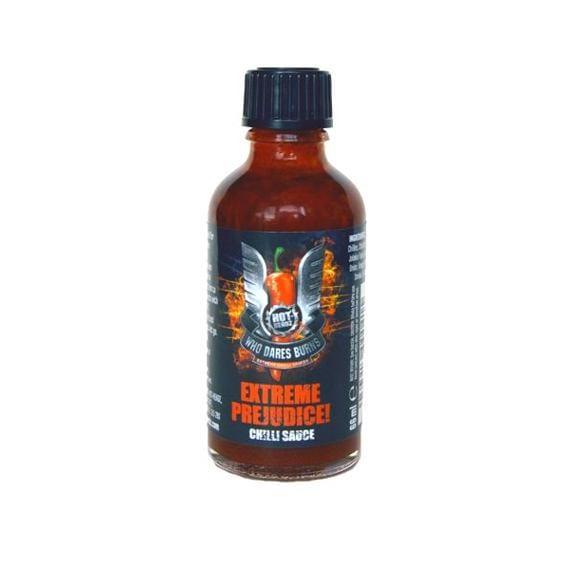 Who Dares Burns Extreme Prejudice! Chilli Sauce 66 ml