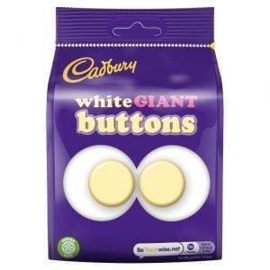 Cadbury White Giant Buttons 110 g