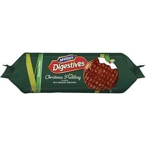 McVities Milk Chocolate Digestives Xmas Pudding 250g