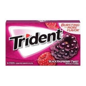 Trident Black Raspberry 14 ks 27 g