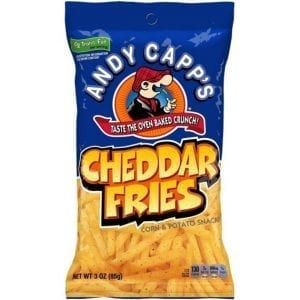 Andy Capp's Cheddar Fries 85 g