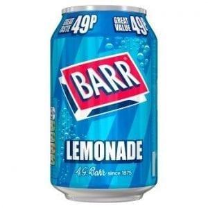 Barr Lemonade 330 ml