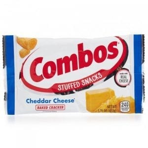 Combos Cheddar Cheese Baked Cracker 48,2 g