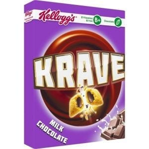 Kellogg's Krave Milk Chocolate 375 g