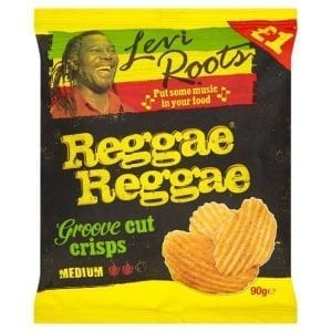 Levi Roots Reggae Reggae Medium Crisps 90 g