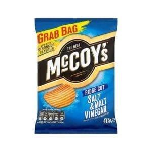 McCoy's Salt & Malt Vinegar 47,5 g