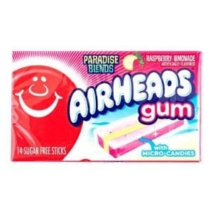 Airheads Gum Raspberry Lemonade 33,6 g