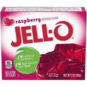 Jell-O Raspberry 85 g
