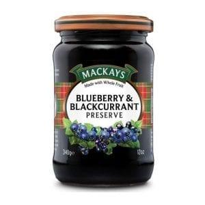 Mackays Blueberry & Blackcurrant Preserve 340 g