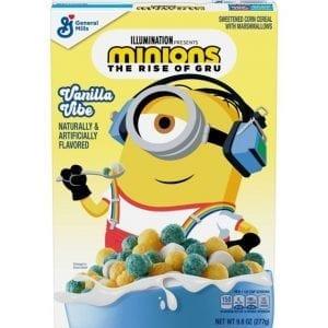 Minions Vanilla Vibe Cereal 277 g