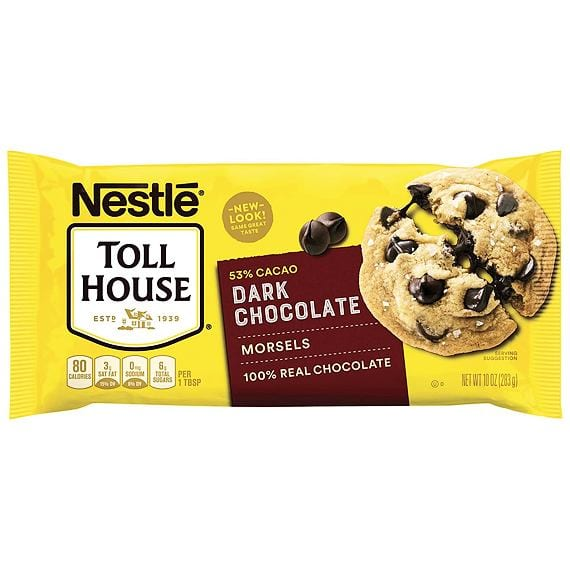 Nestlé Toll House Dark Chocolate Morsels 283 g