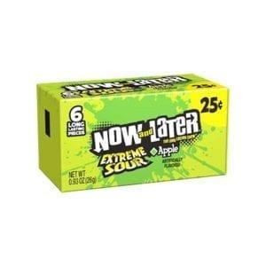 NowandLaterExtreme SourApple 26 g