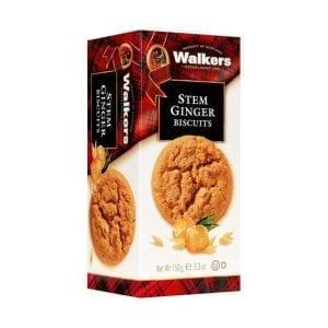 Walkers Stem Ginger Biscuits 150 g