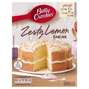 Betty Crocker Zesty Lemon Cake Mix 425 g