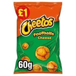 Cheetos Footballs Cheese 60 g