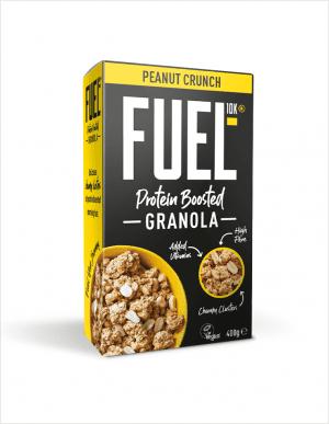 FUEL10K Peanut Crunch Granola 400 g