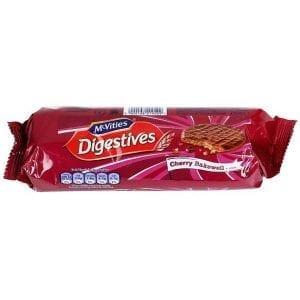 McVities Digestives Cherry Bakewell 250 g