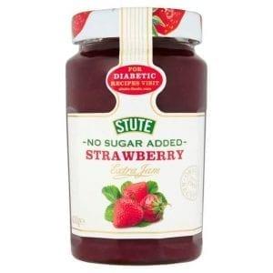 Stute No Sugar Added Strawberry Extra Jam 430 g