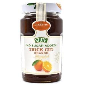 Stute No Sugar Added Thick Cut Orange Marmalade 430 g