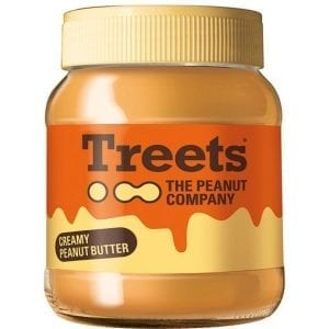 Treets Creamy Peanut Butter 340 g