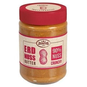 Zentis Erdnussbutter Crunchy 350 g