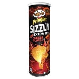 Pringles Sizzl'n Cheese & Chilli 180 g
