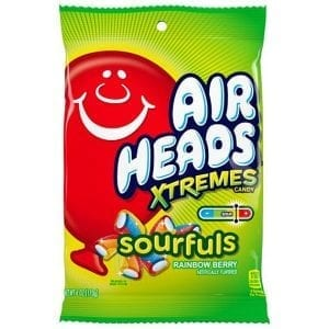 Airheads Xtremes Sourfuls Rainbow Berry 170 g
