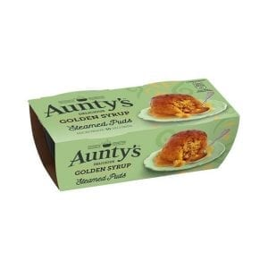 Aunty's Steamed Puds Golden Syrup 2 x 95 g