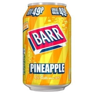 Barr Pineapple 330 ml PM