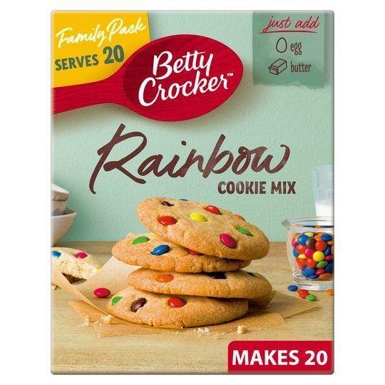 Betty Crocker Rainbow Cookie Mix 495 g