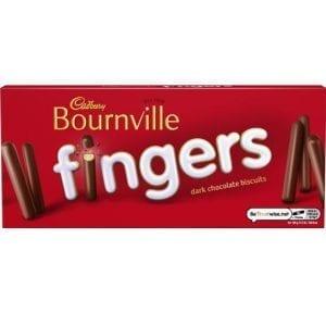 Cadbury Bournville Fingers 114 g