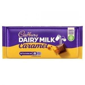 Cadbury Dairy Milk Caramel 120 g