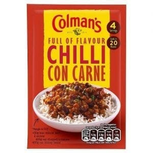 Colman's Chilli Con Carne Mix 50 g