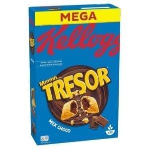 Kellogs Tresor Milk Choco 660 g