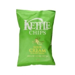Kettle Chips Sour Cream & Sweet Onion 150 g