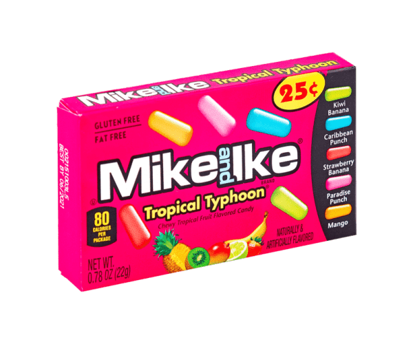 Mike Ike Tropical Typhoon 22 g