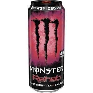 Monster Rehab Raspberry Tea 458 ml